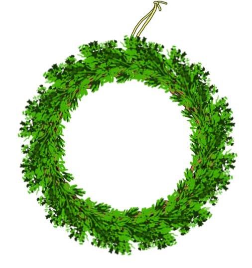クリスマスのあの輪っかの作り方_6