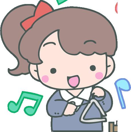 トライアングルの持ち方解説!子供でも簡単に出来る奏法楽譜の読み方書き方