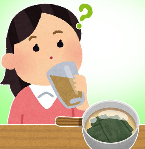 出汁,味がしない,味覚異常,原因,子供