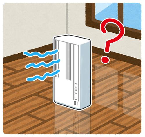 窓用エアコン,床置き,仕組み,窓以外,床に置いて使う