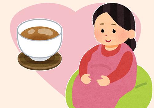 ほうじ茶,カフェイン,量,妊娠中,影響
